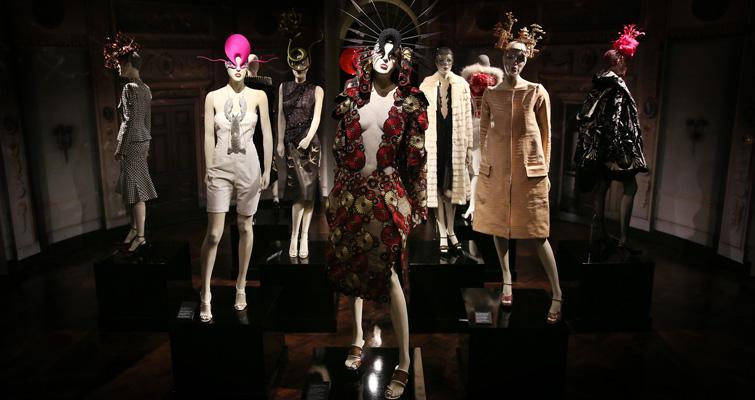 Isabella Blow: Fashion Galore! display at Somerset House