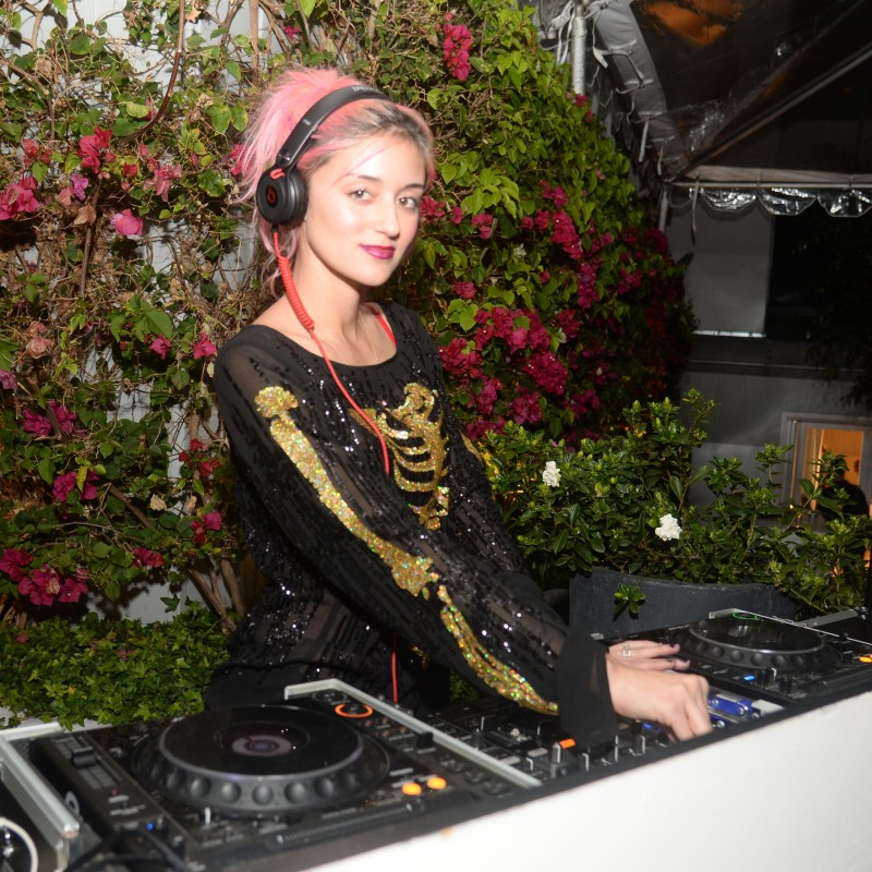 Wildfox Spring 2014 Launch Party DJ Caroline D'Amore