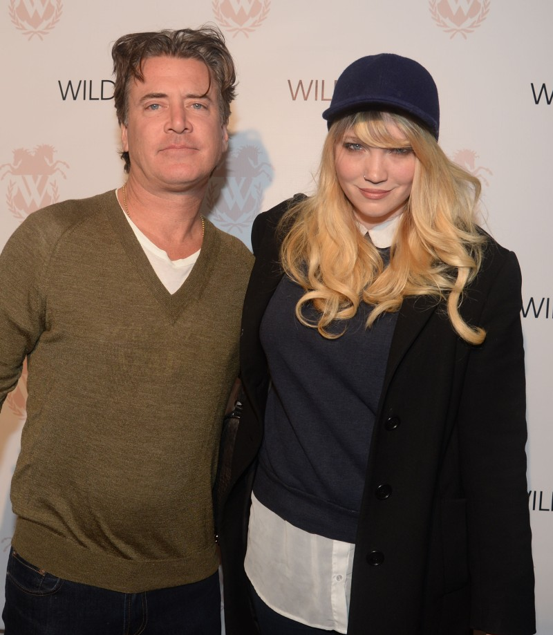 Wildfox Spring 2014 Launch Party Jimmy Sommers and Kimberley Gordon