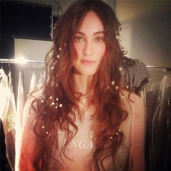 behind the scenes at the Wildfox Fall Winter 2014 New York Fashion Week show
