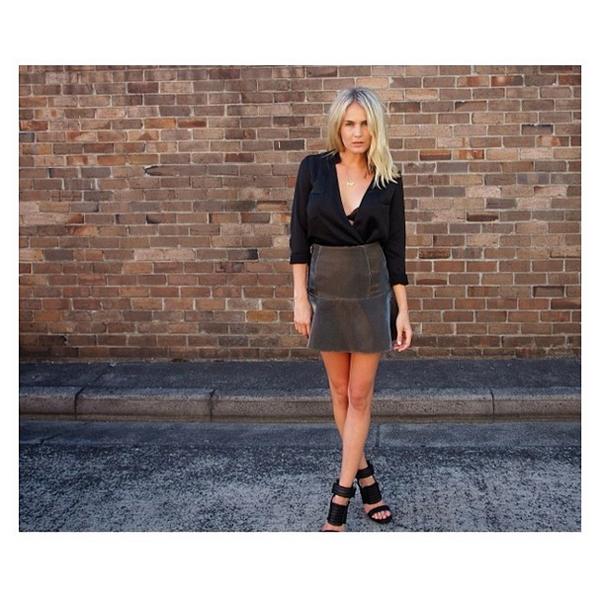 Mayden Sydney in the Retrograde Skirt
