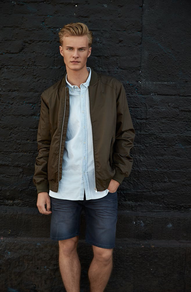 Elvine Lookbook SS14 Bill Jacket Gulliver Shirt No 3 Vintage Shorts