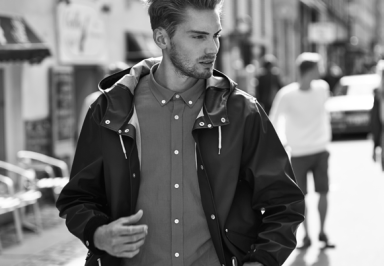 Elvine Lookbook SS14 Ockero Jacket Sweeney Shirt