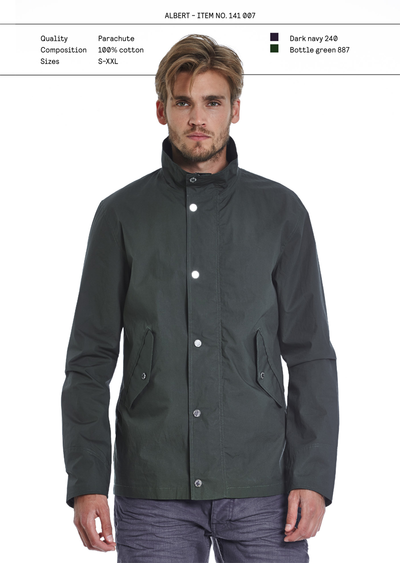 Elvine SS14 menswear Albert jacket