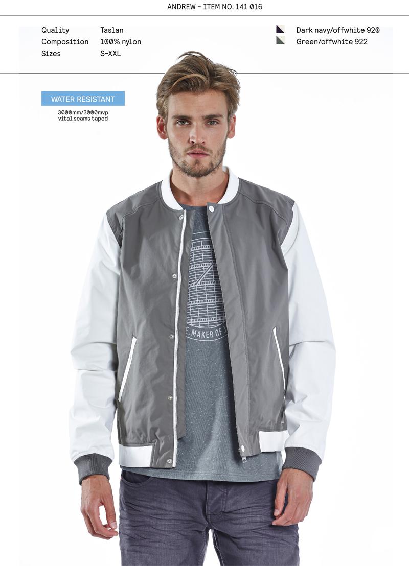 Elvine SS14 menswear jacket Andrew