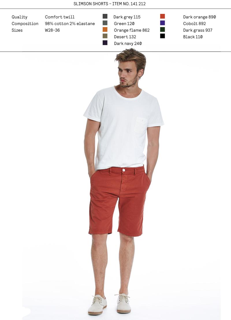 Elvine SS14 menswear Slimson Shorts
