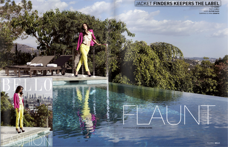 Finders Keepers the Graduate in Bello magazine
