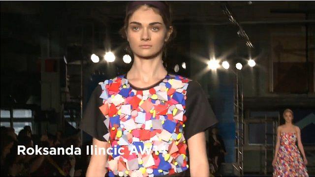 Roksanda Ilincic AW14 London Fashion Week
