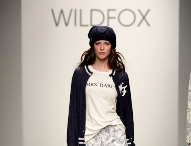 Wildfox Fall Winter 2014 at New York Fashion Week featured