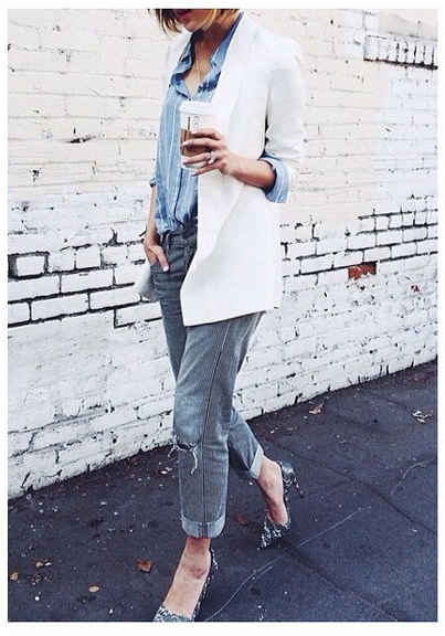 Chriselle Lim in the Make Your Mark Blazer