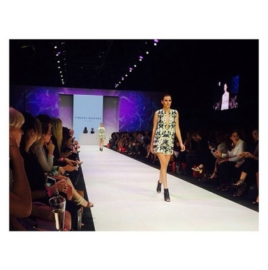 Finders Keepers the label runway show Inner Light Reversible Dress at VAMFF
