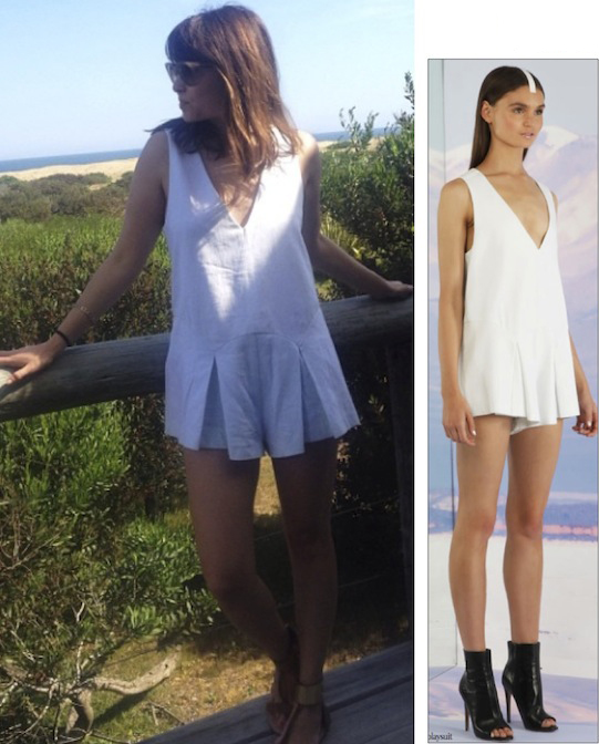 Geri Hirsch in the Here Comes The Sun Playsuit