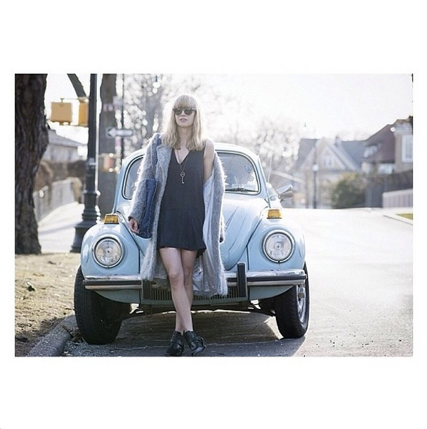Fashion blogger Lisa Dengler in the Finders Keepers Here Comes The Sun Playsuit from the label's Dreamstate collection