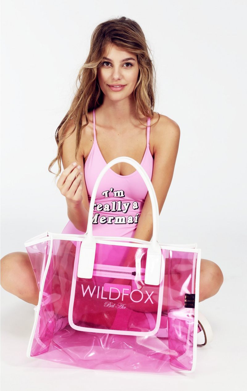 WILDFOX Bel Air Vinyl Tote Bag