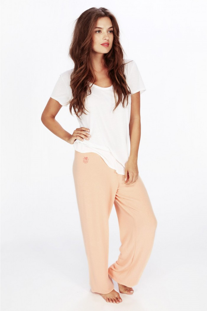 Wildfox Essentials Gidget Sweats Coral Shell