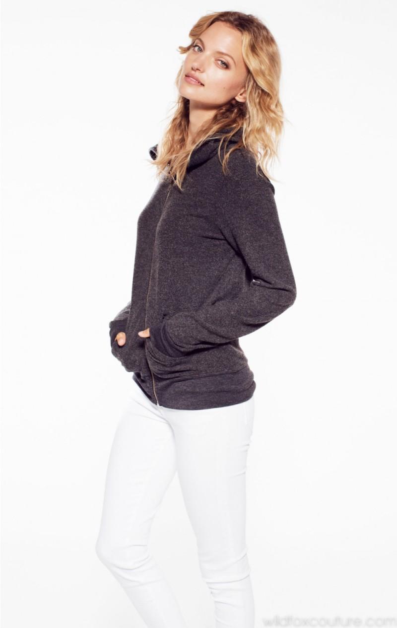 Wildfox Essentials Track Suit Jacket Clean Black