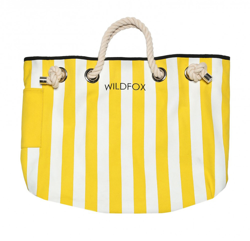 WILDFOX TAKE ME ON VACATION COPA CLUB BEACH BAG reversible