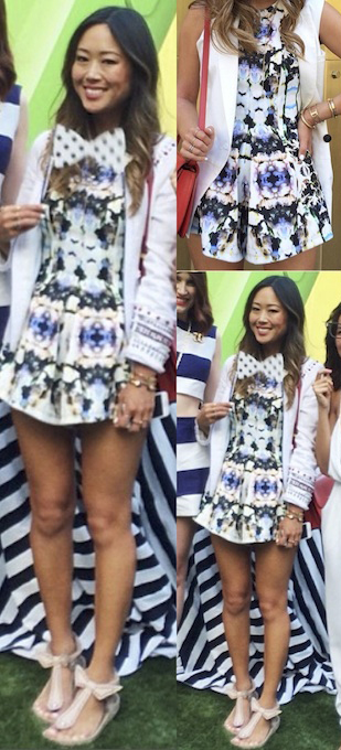Aimee Song of Song Of Style in the Unbelievers Playsuit