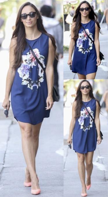 Cara Santana in the Evil Friends Dress