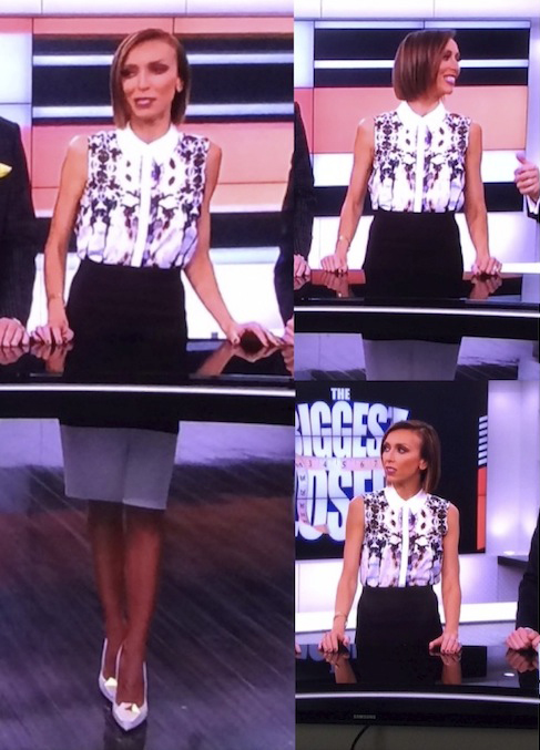Giuliana Rancic in the Permission To Love Shirt