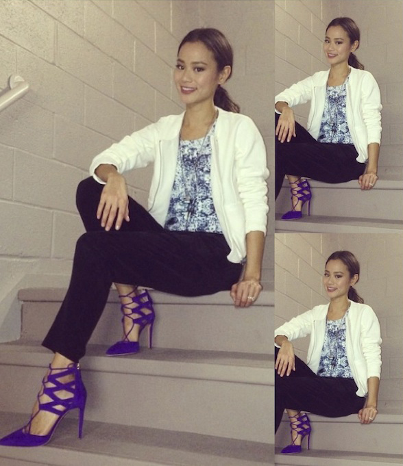 Jamie Chung in the On & On Top