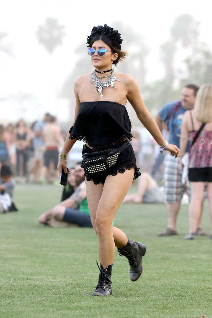 Kylie Jenner wearing Wildfox Sun Le Femme Deluxe