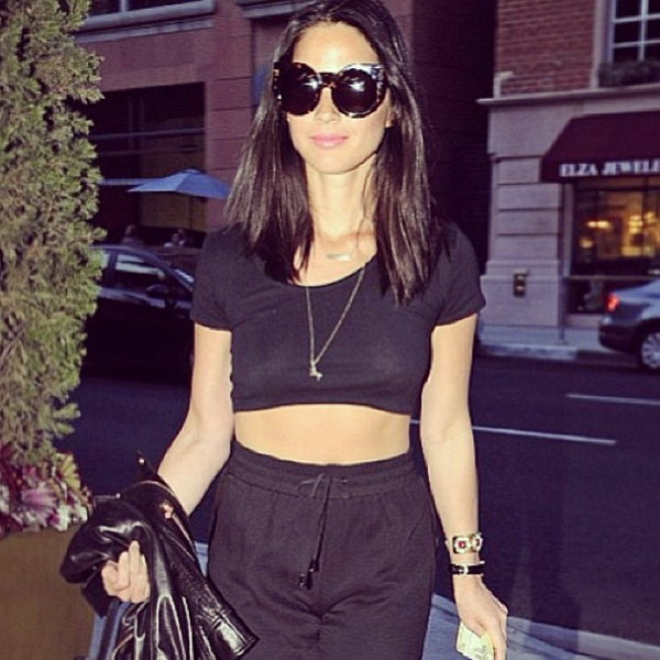 Olivia Munn in the Wildfox Sun Grannies