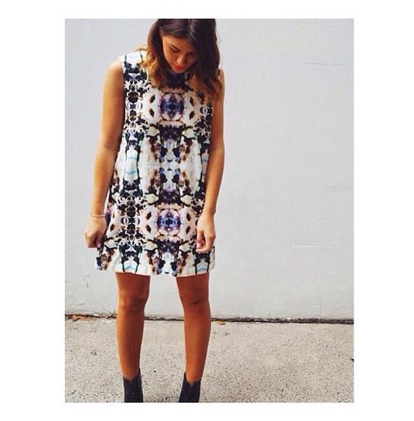 Twice Blessed in the Inner Light Reversible Dress