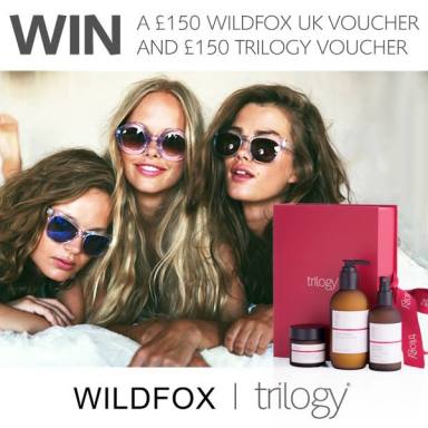 wildfox uk and trilogy facebook competition