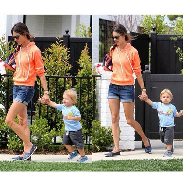 Alessandra Ambrosio in the Genetic Azalea shorts in Morph