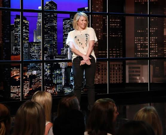 Chelsea Handler wore the Wildfox Cali Heart Boy T on her show