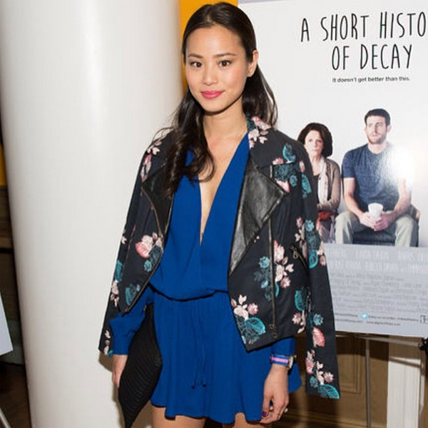 Jamie Chung in the Wildfire Playsuit by The Fifth