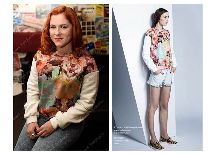 Katy B wears the Renegrade Jumper