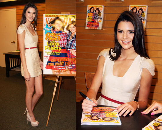 Kendall Jenner wearing the Finders Keepers All The Lovers Dress in 2012