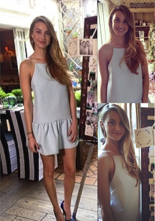 Whitney Port in the Strange Fire Dress