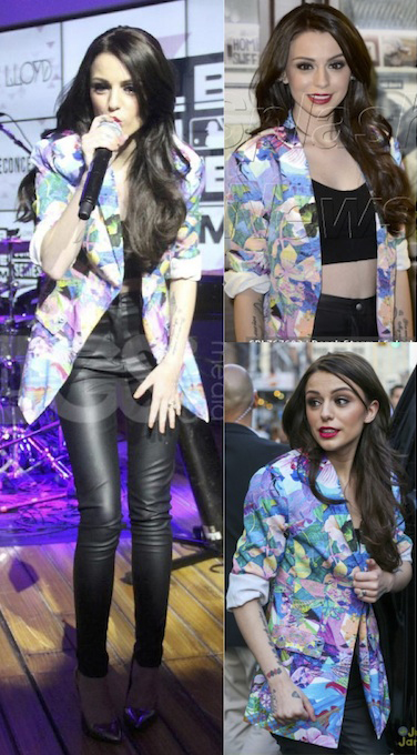 Cher Lloyd in the Midnight Lover Blazer
