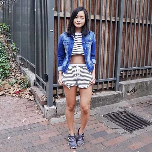 Jessica Tran of Jess Loves Fred in the Ordinary People Shorts by The Fifth Label