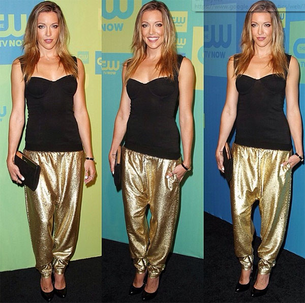 Katie Cassidy  in the Dream Weaver Pant