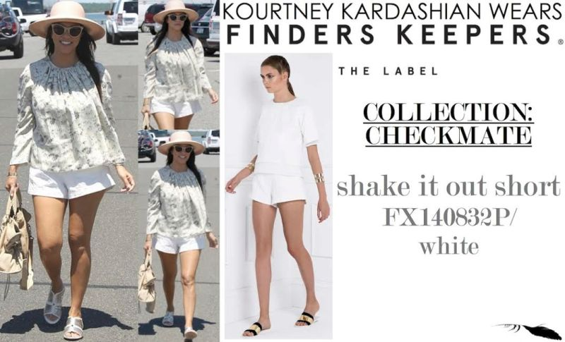 kourtney kardashian checkmate finders keepers