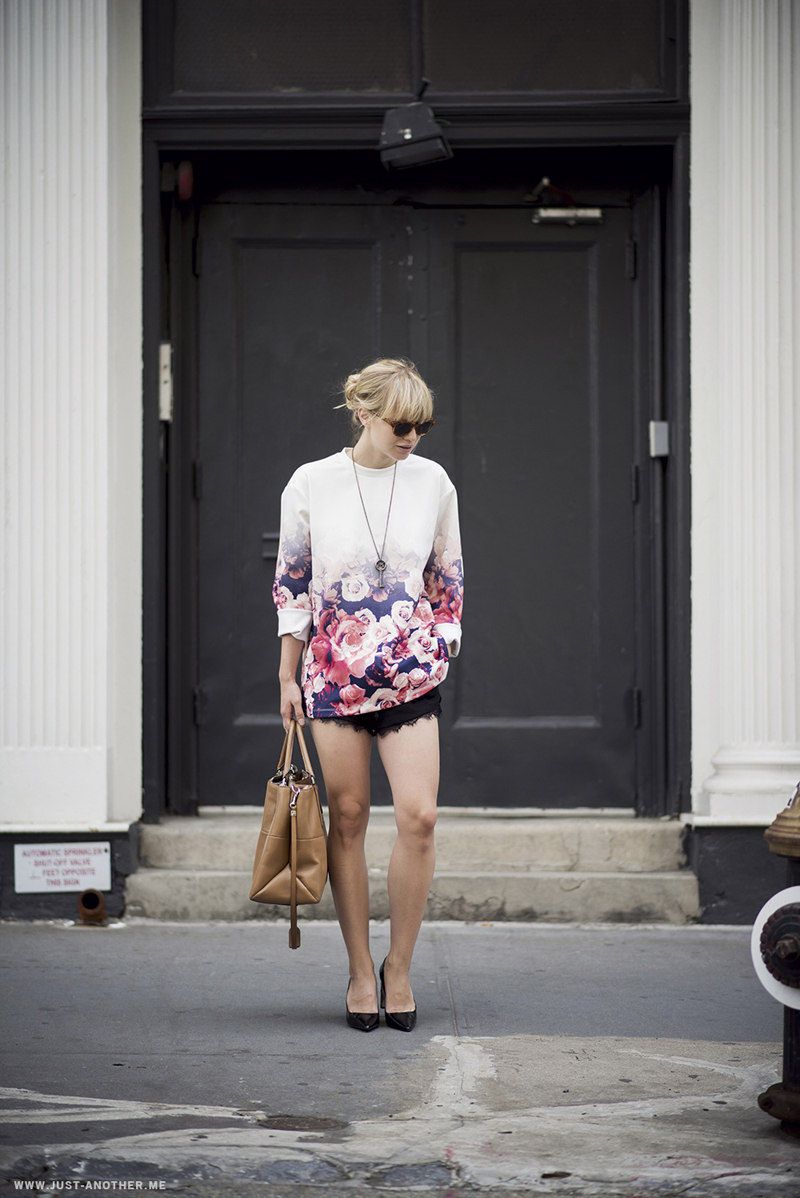Lisa Dengler in the New Bloom Jumper